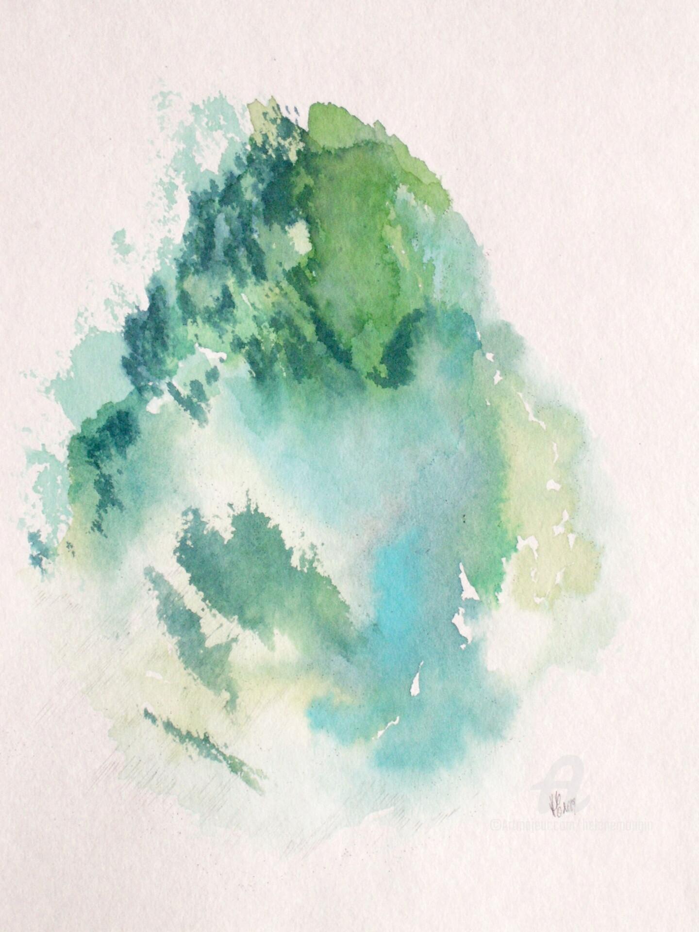 Hélène Mongin - Blue in Green, cimes et forets 09