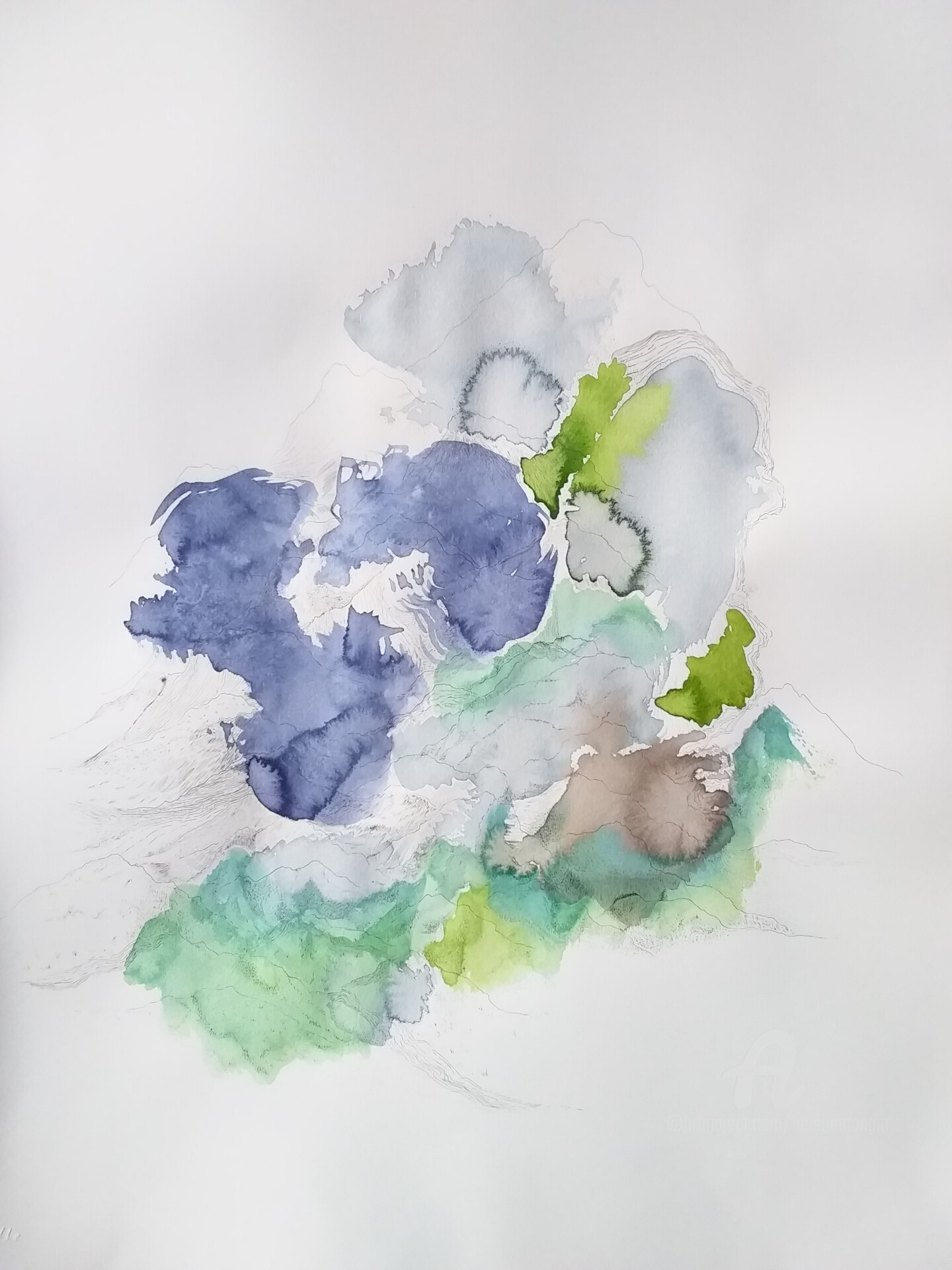 Hélène Mongin - Paysage Imperceptible N 7