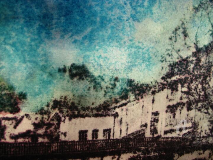 Le vieux pont et les maisons /01