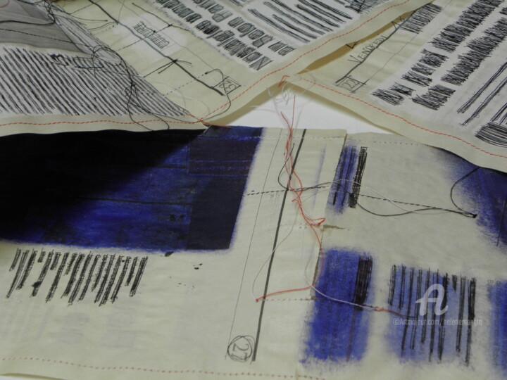 Livre-Journal Bleu (détail 3)
