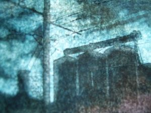 Paysage transfiguré série usine