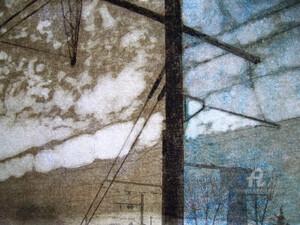 Paysages Transfigurés série voie férrée 03