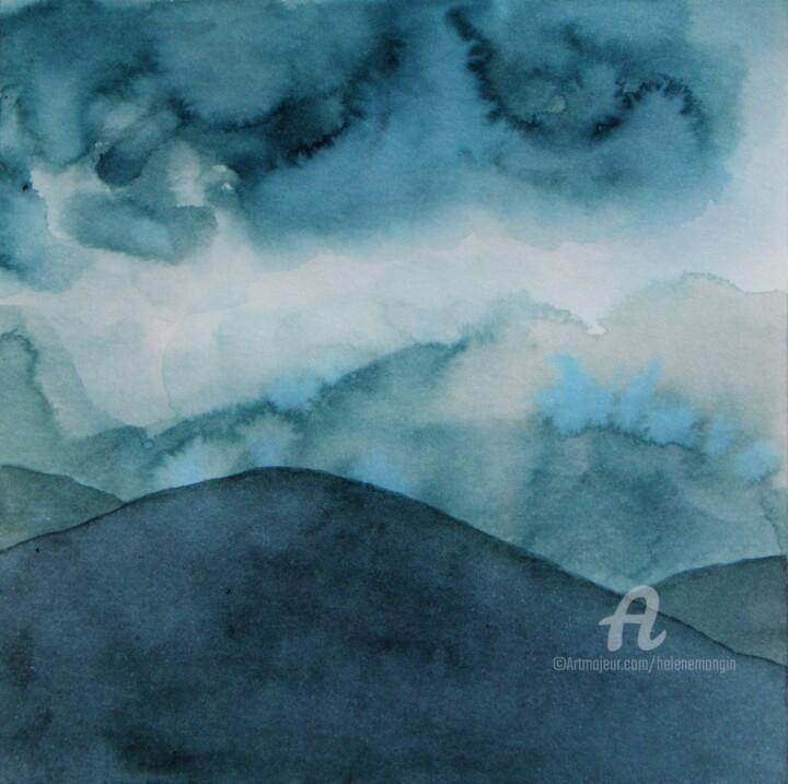 Paysage de montagnes et nuées 17