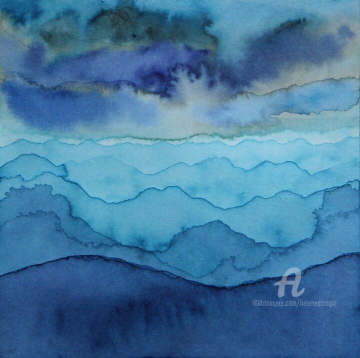 Paysage de montagnes et nuées 19