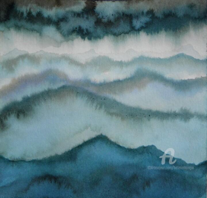 Paysage de montagnes et nuées 20
