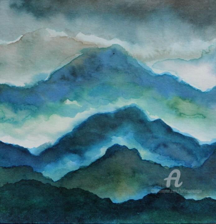 Paysage de montagnes et nuées 21